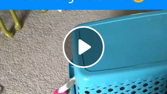 Self Loading Laundry Basket ^^