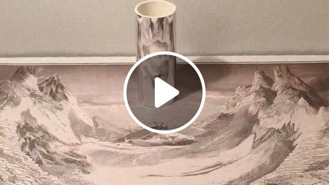 Do You Recognize Him? - Video & GIFs | art, funny, talent, paint
