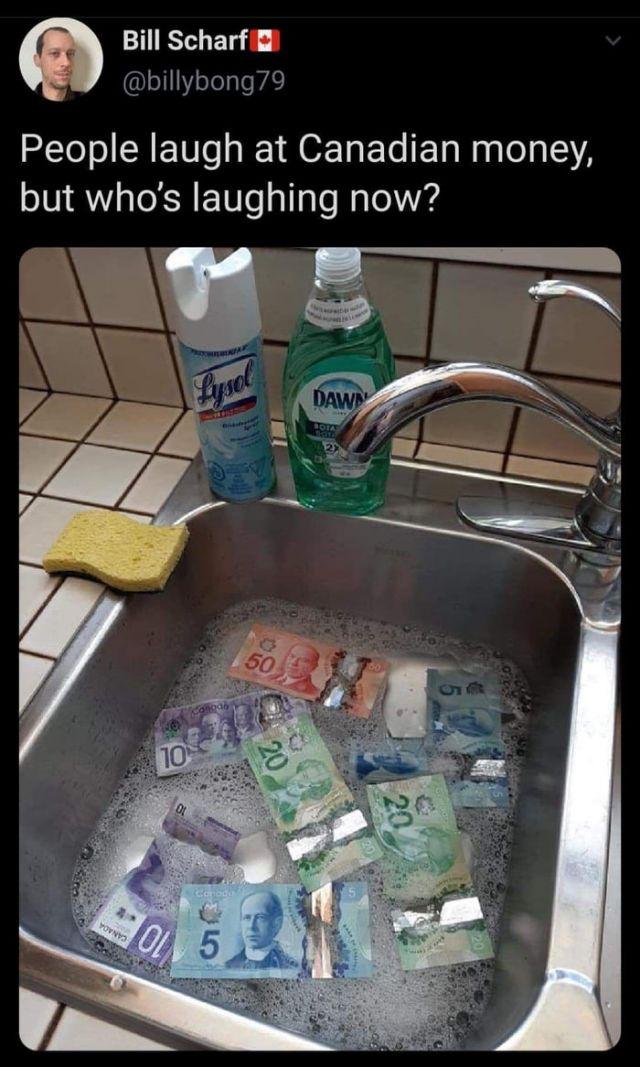 Sanitize Polymer Money