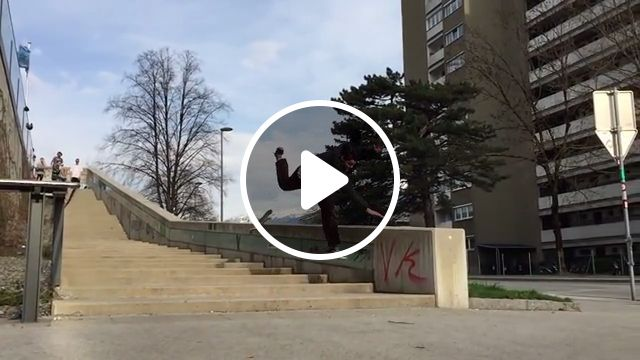 Good, but not quite perfect, skateboard, stairs, funny, hurt, bad luck