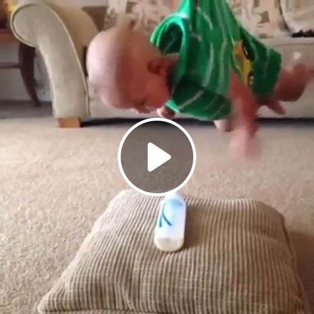 Mission Impossible 101, cute baby, funny, adorable baby, milk, pillow, milk bottle