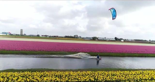 Beautiful place to Kitesurfing