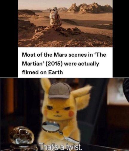 Detective Pikachu That's a Twist meme