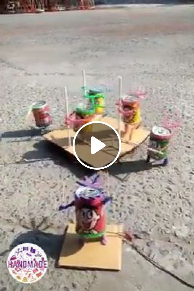 Handmade Toys For Kids, cans, toys, handmade, funny