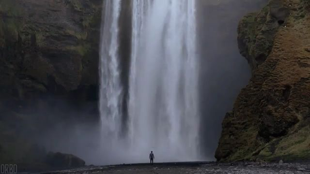 Beautiful nature GIFs - Majestic Waterfall