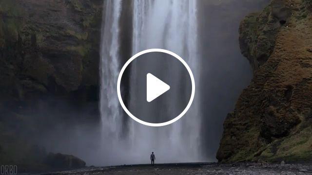 Beautiful nature GIFs - Majestic Waterfall, beautiful nature, funny, waterfall