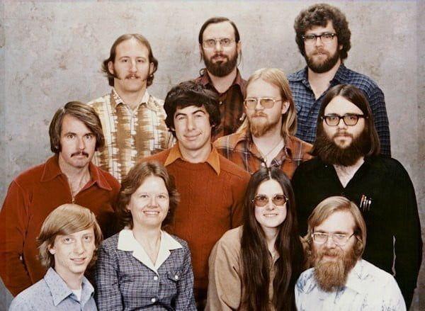 The Microsoft Team In 1979