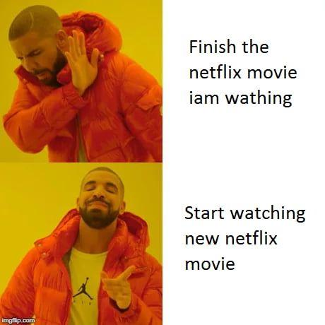 Watching netflix meme
