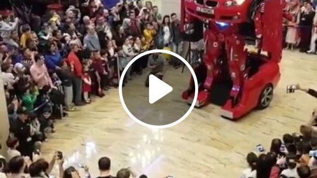 Transformer Car BMW - Funny Videos - funvizeo.com - car,bmw,humor,robot