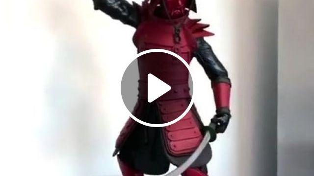 Chocolate Samurai - Video & GIFs   funny, awesome, chocolate, samurai
