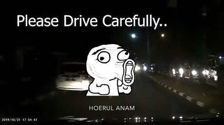 Drive carefully meme