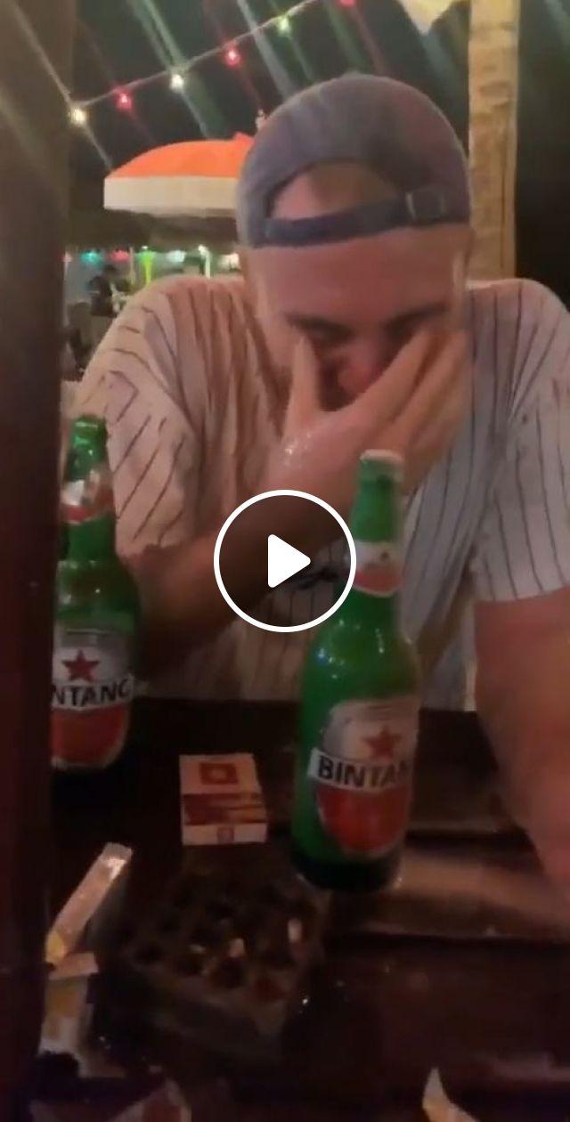 Beer Prank - Video & GIFs | funny, prank, beer