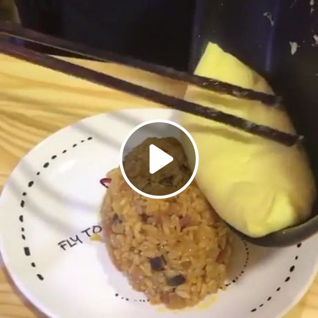 Tampopo Omurice - Video & GIFs   delicious foods, funny, japan