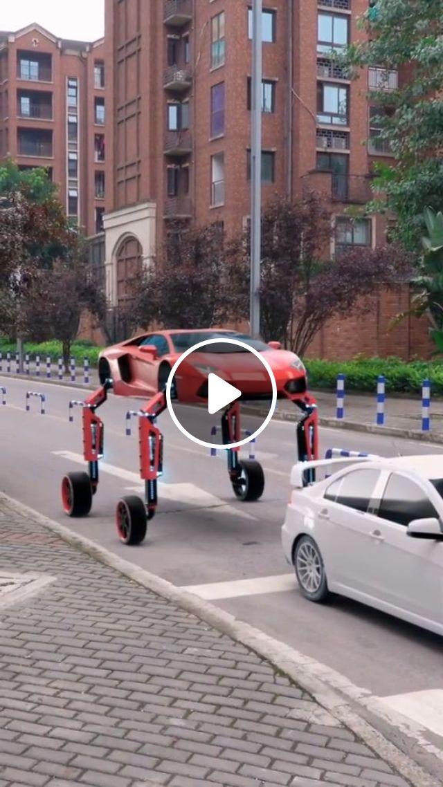 Luxury Unique Car - Video & GIFs | funny, luxury car, traffic lights
