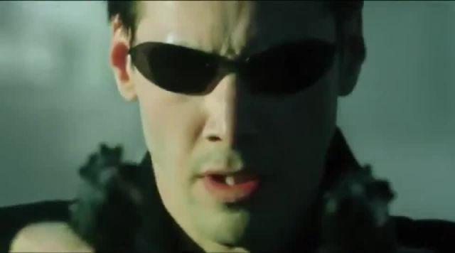 Confused Agent Vega in the Matrix memes