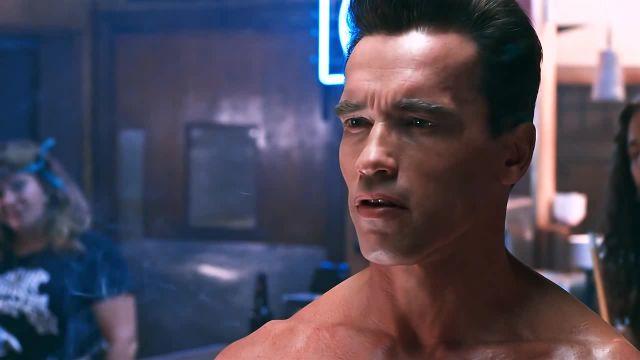 Serious Arnie meme