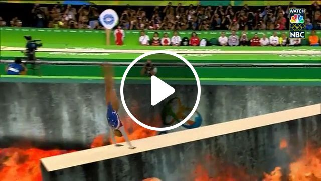 OMG, Is it real?, funny sports gifs, funny, olympic, danger, fire