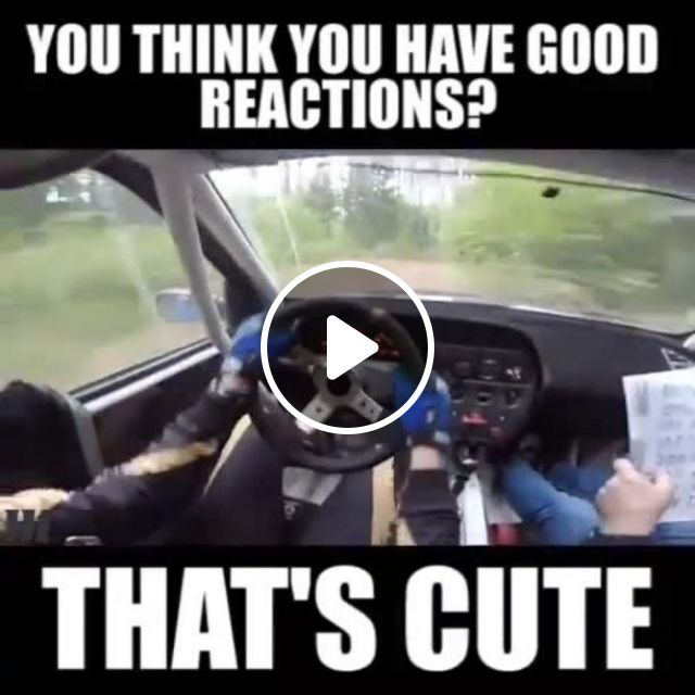 You think you have good reactions?, fast, racing, funny, car