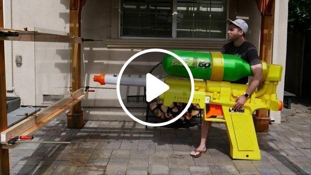 Water Gun LV 1001, gun, water, funny