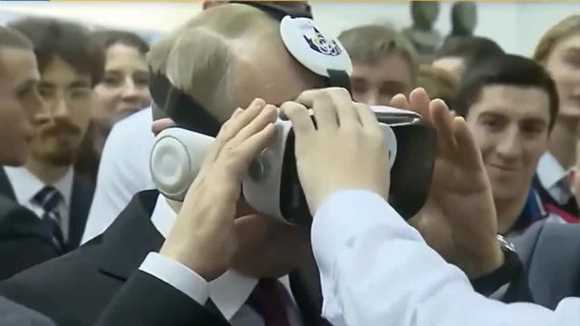 Putin's special VR software memes