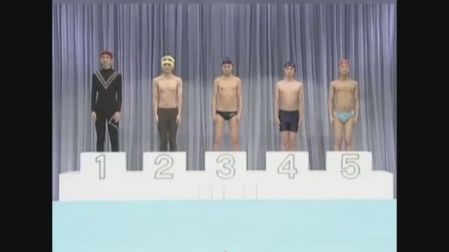 The most unique swimming competition in the world