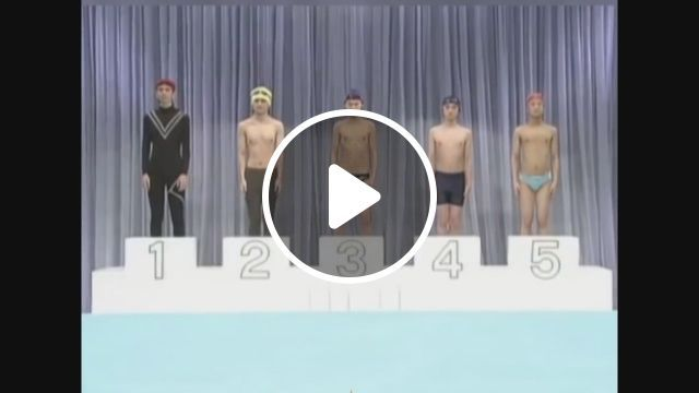 The most unique swimming competition in the world, swimming, competition, funny, unique