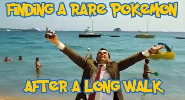 Finding a rare pokemon