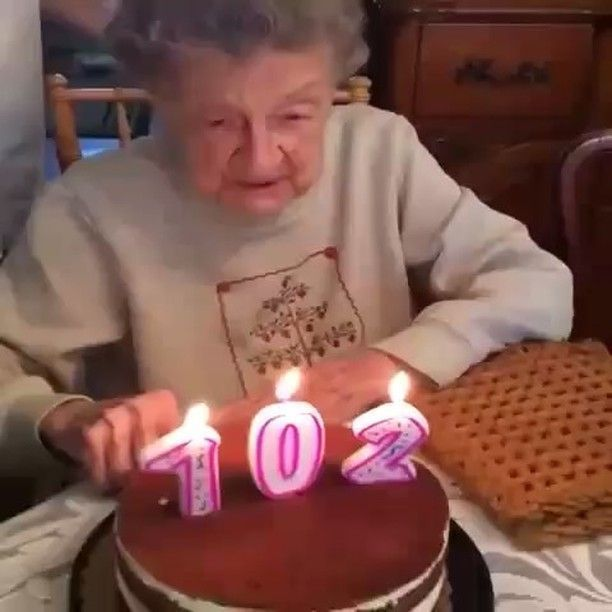 Ha há ha ha - Funny Videos - funvizeo.com - birthday, grandmother, dentures, funny, birthday cake, birthday candle
